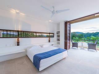 Casa Loma Dormitorios minimalistas de David Macias Arquitectura & Urbanismo Minimalista