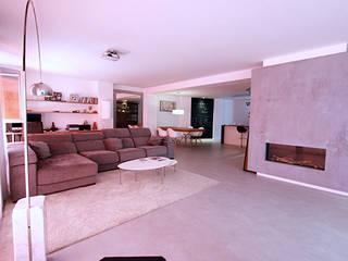 Ruang Keluarga oleh Novodeco, Minimalis