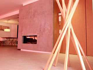 Novodeco Minimalist corridor, hallway & stairs