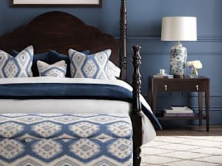 SS16 Style Guide - Coastal Elegance - Bedroom:  Bedroom by LuxDeco