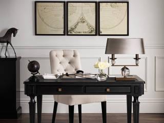 SS16 Style Guide - Coastal Elegance - Home Office/Study Phòng học/văn phòng phong cách đồng quê bởi LuxDeco Đồng quê