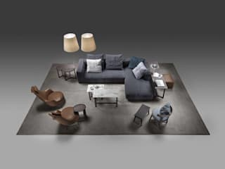 Flexform Sofa and Armchair di Mobilificio Marchese Moderno