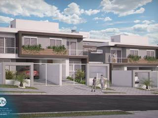 Vista frontal: Casas  por studio vtx