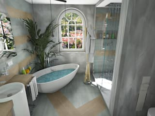 Das Bad als Wohlfühlraum!!!: moderne Badezimmer von Bad Campioni