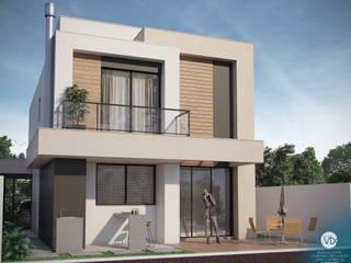 Vista posterior: Casas  por studio vtx