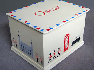 London Icons Keepsake Box: modern  by Anne Taylor Designs, Modern