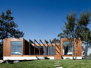 Jular Madeiras Casas modernas: Ideas, imágenes y decoración Madera Acabado en madera