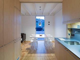 Jular Madeiras Cocinas de estilo minimalista Contrachapado Acabado en madera