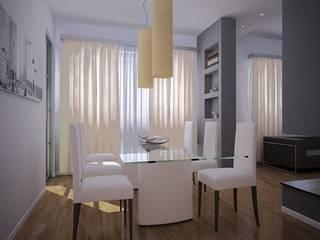 Proyectos Salones de estilo moderno de Tu-Reforma Moderno