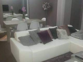 CSInterieur Salones de estilo moderno Hormigón Gris