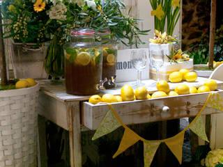 Mediterranean style gastronomy by CRIS CAMBA Estudio floral. Mediterranean