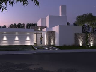 Vivienda familiar: Casas de estilo moderno por Arquitecta María Pía Cadelago