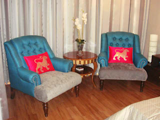 Bedroom by renu soni interior design