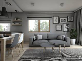 MGN Pracownia Architektoniczna Living room
