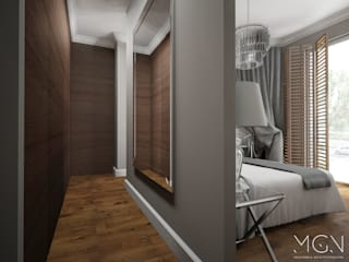 Classic style dressing room by MGN Pracownia Architektoniczna Classic