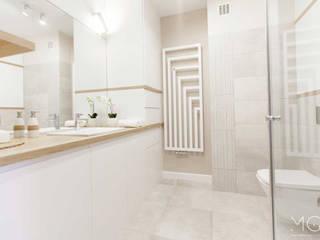 MGN Pracownia Architektoniczna Salle de bain moderne