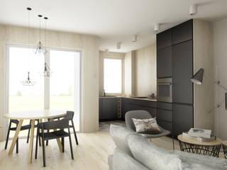 MGN Pracownia Architektoniczna Kitchen