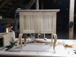 Szafki łazienkowe: styl , w kategorii  zaprojektowany przez Wood Art Stolarstwo