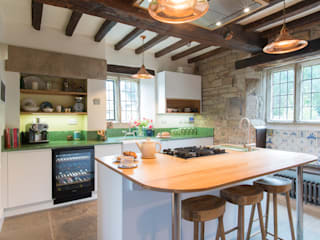16th Century Manor House - Sheffield Sustainable Kitchens Sheffield Sustainable Kitchens Modern kitchen