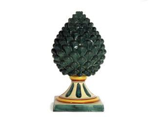 CEAR Ceramiche Azzaro & Romano Srl Casas de estilo mediterráneo Cerámico Multicolor