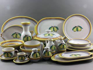 Set Stoviglie da tavola CEAR Ceramiche Azzaro & Romano Srl CucinaPosate, Stoviglie & Bicchieri Ceramica Variopinto