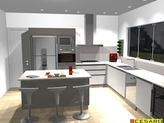 Modern kitchen by Cesaro Modern