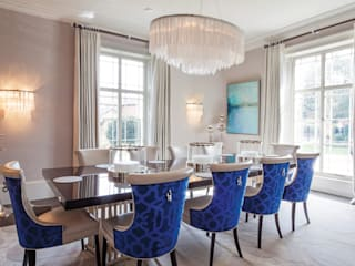 Restored Georgian splendour with modern indulgences: classic Dining room by The Design Practice by UBER