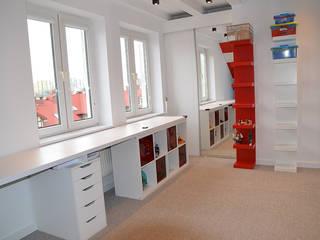 Pokój LEGO 3: styl , w kategorii Pokój dziecięcy zaprojektowany przez szlabowicz.pl