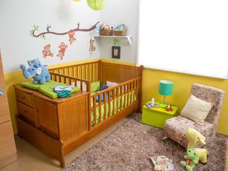 Idea Interior Nursery/kid's roomBeds & cribs Chipboard Wood effect