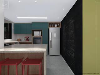 Casa 21 Cozinhas modernas por Claudia Dias Arquitetura Moderno