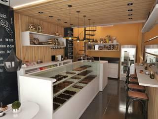 Gastronomi Modern Oleh Ao Cubo Arquitetura e Interiores Modern