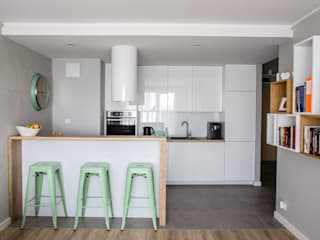 Cocinas de estilo  por Pika Design, Moderno