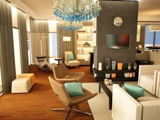 Apartamento Matosinhos: Salas de estar  por Decorando - Inner Spaces
