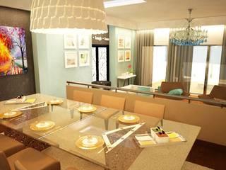 Apartamento Matosinhos: Salas de jantar  por Decorando - Inner Spaces