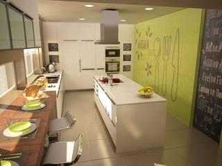Apartamento Matosinhos Cozinhas modernas por Decorando - Inner Spaces Moderno