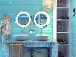 Bathroom by Your royal design, Mediterranean