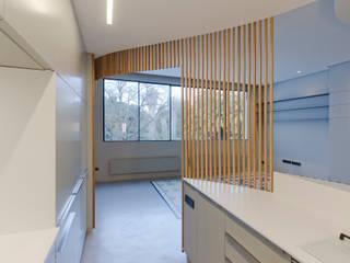 casa F Cocinas de estilo moderno de Ignacio Carbó -myarchitect- Moderno