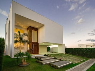 Duo Arquitetura Casas de estilo minimalista