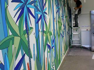 Tropische Wände & Böden von Wallpepper Tropisch