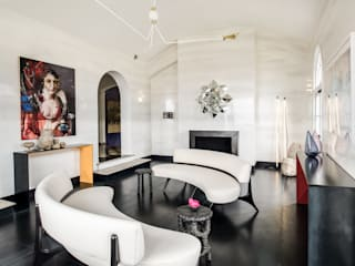 Antonio Martins Interior Design Inc Moderne Wohnzimmer