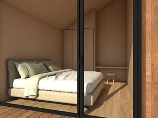 ESTUDIO BAO ARQUITECTURA Scandinavian style bedroom