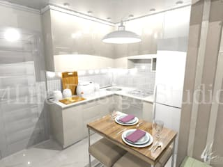 Дизайн интерьера в Калининграде. 4LifeDesignStudioが手掛けたキッチン