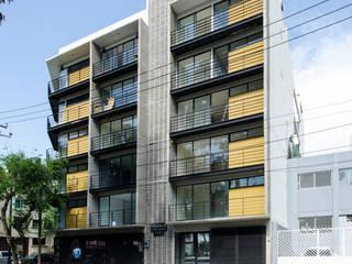 Vista fachada lateral:  de estilo  por PABELLON de Arquitectura