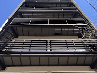 Vista balcones:  de estilo  por PABELLON de Arquitectura