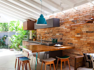 Casa Caiçara: Terraços  por RAC ARQUITETURA,Colonial