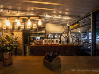 JPL & Templo da cerveja - Mercadoteca - Curitiba Bares e clubes industriais por Camila Bruzamolin - arquitetura Industrial
