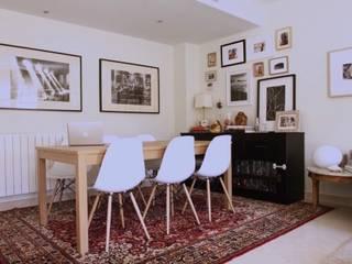 Restyling de un salón: Comedores de estilo  de Virginia Sánchez