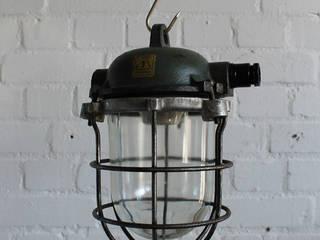 Lux-Est Living roomLighting Iron/Steel Green