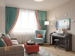 Classic style living room by Студия Павла Полынова Classic