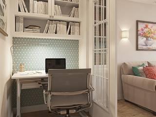 Classic style study/office by Студия Павла Полынова Classic